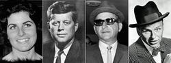 Judith Campbell, JFK, Sam Giancana y Frank Sinatra