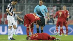 Toni Kroos se lesiona en el Bayern-Juventus.