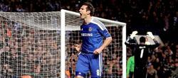 Frank Lampard celebra su gol ante el Benfica. | EFE