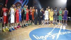 Presentación de la temporada 2013/14 de la Liga Endesa en el polideportivo Magariños de Madrid. | EFE