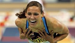 La atleta Lolo Jones.