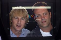 Owen Wilson y Vince Vaughn en Los becarios