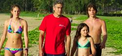 George Clooney en Los descendientes