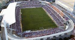 Vista aérea del estadio de Los Cármenes.