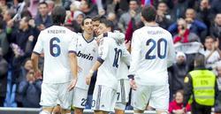 Cristiano celebra uno de sus tres goles. | Cordon Press