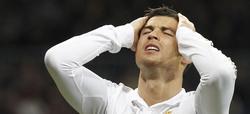 Ronaldo se lamenta por una de las muchas ocasiones marradas. | EFE