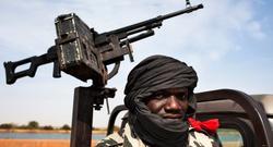 Un solado maliense en Diabaly. | Cordon Press
