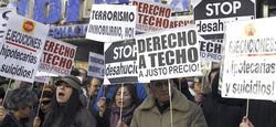 Manifestación contra los desahucios | Archivo