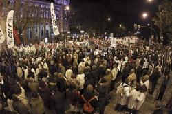 Manifestación en Madrid por la Sanidad pública   EFE