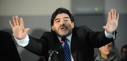 Maradona, en Nápoles. | Cordon Press