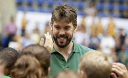 Marc Gasol, durante un acto publicitario. | EFE