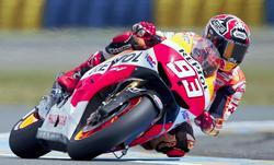 Marquez fue el más rápido en la calificación. | Cordon Press