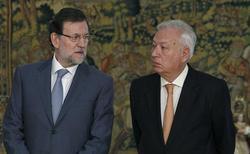 Rajoy y Margallo,este lunes | EFE