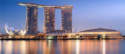 El espectacular complejo de Singapur | Wikipedia/Someformofhuman