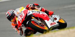 Marc Márquez rueda con su Honda en el circuito de Mugello. | EFE