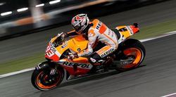 Marc Márquez rueda sobre el circuito de Losail. | EFE