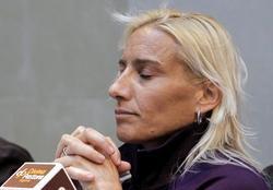 Marta Domínguez vuelve a enfrentarse a las acusaciones por dopaje.   Archivo