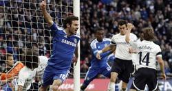 Juan Mata celebra su gol ante el Tottenham. | EFE