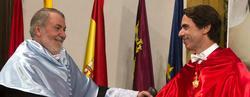 Mayor Oreja y Aznar en el acto académico   David Mudarra-Faes