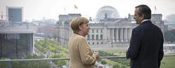 La canciller alemana, Angela Merkel, y el primer ministro griego, Antonis Samaras | Archivo