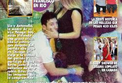Messi, en la revista Pronto