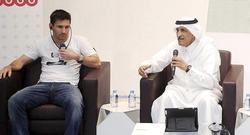 Leo Messi, de visita en Qatar. | EFE