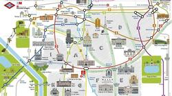 El nuevo plano del metro | Efe