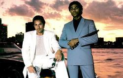 Don Johnson y Philip Michael Thomas en Corrupción en Miami