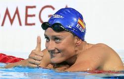Mireia Belmonte logra la plata en los Mundiales de Barcelona. | EFE