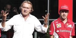 Luca Cordero di Montezemolo y Fernando Alonso. | Archivo