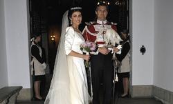 Morejón y Solís, en la boda | Cordon Press