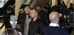 Los mossos imputados han llegado al juzgado camuflados entre sus compañeros | EFE