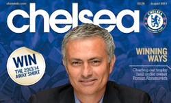 Extracto de la portada de la revista del Chelsea.   Foto: Twitter