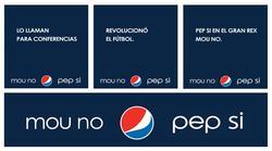Imágenes de la campaña de Pepsi.