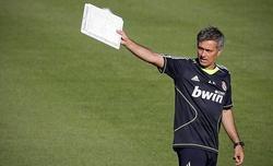 Mourinho, en un entrenamiento | Archivo