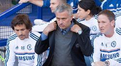 José Mourinho, durante el partido de la Premier League contra el Everton en Goodison Park. | Cordon Press
