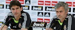 José Mourinho (d) y Aitor Karanka. | Archivo