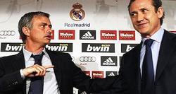 Mourinho y Jorge Valdano. | Archivo