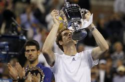 Andy Murray celebra el título de US Open 2012 | Cordon Press