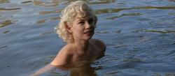 Michelle Williams es Marilyn Monroe en Mi semana con Marilyn