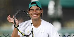 Rafa Nadal, durante un entrenamiento en Indian Wells. | Cordon Press