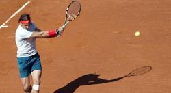 Rafa Nadal, durante su partido ante Carlos Berlocq. | EFE