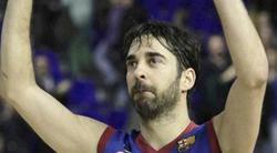 Juan Carlos Navarro, homenajeado en el Palau Blaugrana. | EFE