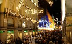 Luces de Navidad en el centro de Madrid I Cordon Press.