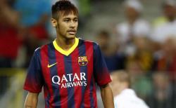 Neymar volvió a marcar con la camiseta del Barça.   Archivo