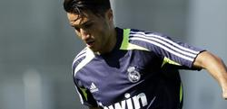 Nuri Sahin, en un entrenamiento con el Real Madrid.   EFE