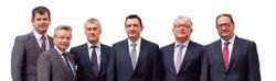 El equipo directivo de Optima Financial Planners.