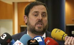 Oriol Junqueras, en Bruselas | EFE