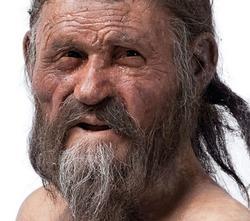 Recreación de Ötzy. | Museo Arqueológico del Sur del Tirol