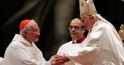 Marc Ouellet saluda al Papa | Archivo